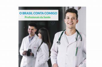 """Ação Estratégica """"O Brasil Conta Comigo – Profissionais da Saúde"""""""